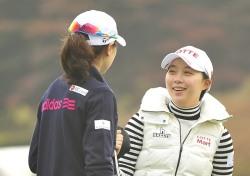 [포토뉴스]김효주와 이정민, '챔피언들의 수다~'