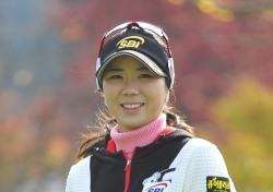 [포토뉴스] 티샷을 준비하는 허윤경, '천사의 미소~'