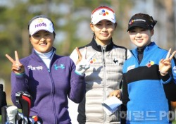 [포토뉴스] 신인왕 경쟁하는 슈퍼루키 3인방, '승리의 V'