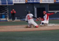 [2014 야구대제전] 동산고, 인천고와 난타전 끝에 8강 진출