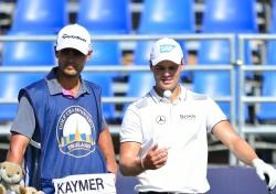 [포토뉴스]타일랜드 골프 챔피언십에 출전한 마틴 카이머의 여유