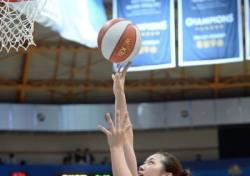 여자 프로농구 6라운드 MVP로 양지희 선정
