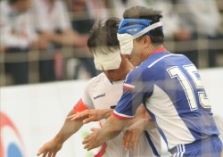 [세계시각장애인경기대회 6일] 축구 한일전 패배는 어쩌면 당연한 결과
