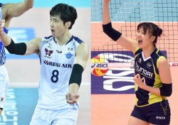 [프로배구] 김학민·양효진, 3라운드 MVP