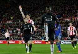 벤테케 2G 연속골, 리버풀 선덜랜드에 1-0 승리