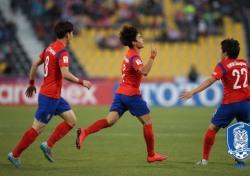 [U23챔피언십] 힘겨운 4강 진출, '최고였던 전반과 최악이었던 후반'