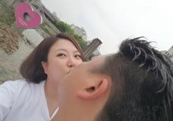 '님과 함께2' 윤정수 김숙, 분위기 취해 키스 인증샷