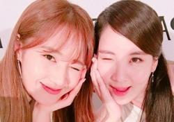소녀시대 유리·서현, 카메라에 윙크하며 귀여움 발사… '男心저격?'