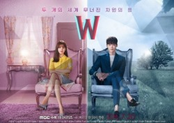 'W', 시청률 상승세 주춤…부동의 수목극 1위