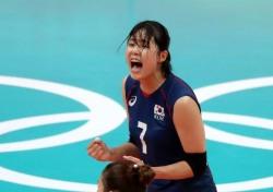 [리우올림픽] 한국 여자배구, 카메룬 완파하고 조 3위로 8강행