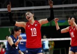 [리우올림픽] 한국 여자배구, '돌풍' 네덜란드에 1-3패...4강 좌절
