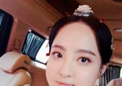 '구르미 그린 달빛' 박보검과 호흡 정혜성, 명은공주 셀카...'굴욕 분장에도 미모 폭발'