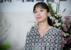 전도연, '굿와이프' 마지막 촬영 후 눈물의 소감