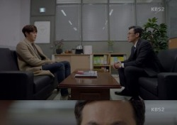 """[TView;클립] '함부로 애틋하게' 김우빈, 친부 유오성에 마지막 """"아버지""""부르고 실신"""