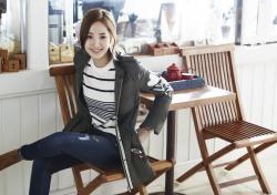 [V화보] 박민영, 가을 햇살같은 따스한 미소