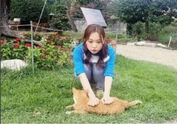 [스낵뉴스] '2016 서울드라마어워즈' 김슬기, 고양이 보다 더 귀엽네