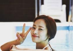 """'저 하늘에 태양이' 윤아정, 비키니 입고 볼륨감 뽐내..""""예술이네"""""""