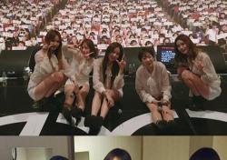 EXID, 데뷔 첫 공식 팬클럽 '레고' 창단...눈물과 감동의 현장