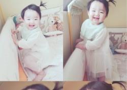 '여자의 비밀' 소이현 딸 하은, 하얀 원피스 입은 귀여운 모습 '러블리'