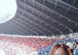 """김세연 아나운서 """"4년 만에 연고전 참석 인증""""…연고전-고연전 무슨 차이?"""