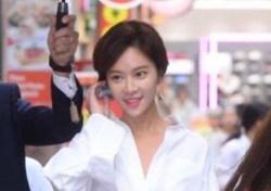 '패션리더' 황정음, 오늘은 핑크 공주?