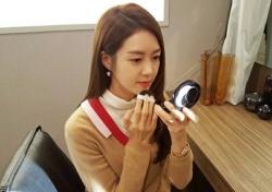 [스낵뉴스] '불야성' 이요원, 대기실서도 미모는 열일 중