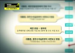 '이규연의 스포트라이트', 석연찮은 대통령 일정표와 조작된 서류…'특조위가 울었다'