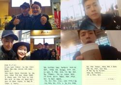 정윤호 이승기...군복무 중인 아이돌 스타들의 연말 근황 탐사기