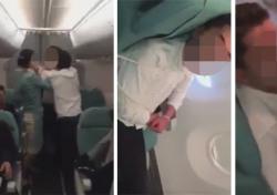 리차드막스 제압, 대한항공 기내난동…'만취했다' 진술 후 귀가