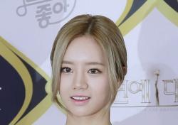 [V포토] 혜리, 꽃보다 아름다운 그녀 (KBS 연예대상)