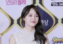 [V포토] 김세정, 빛이 반짝반짝 '꽃길만 걷자' (KBS 연예대상)