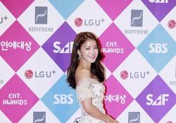 [V포토] 이시영, 꽃이 걸어다니네 (SBS 연예대상)