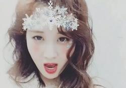 """[스낵뉴스] '루비루비럽' 여주인공 서현, 얼음공주 변신..""""물 오른 미모"""""""