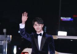 [V포토] 곽동연, '갓병연'의 등장이요 (2016 KBS 연기대상)