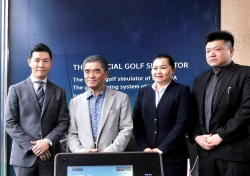 골프존, 미국, 중국 이어 타이완 골프 국가대표에 GDR 기증