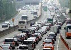 고속도로 교통상황, 경부·서해안 서울방향 제 속도 못내