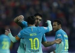 [해외축구] 바르사, ATM 적지에서 2-1 승리...국왕컵 4강 기선제압