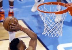 [NBA] 웨스트브룩, 시즌 27번째 트리플-더블과 팀 승리 모두 잡았다