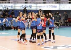[V리그] 한국도로공사, KGC인삼공사 잡고 시즌 첫 3연승