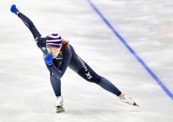 [삿포로AG] '부상 투혼' 이상화, 스피드스케이팅 여자 500m서 은메달