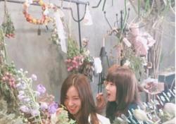 """강예원-한채아, 꽃 속에 파묻혀…""""꽃보다 예쁘면 어쩌라고"""""""