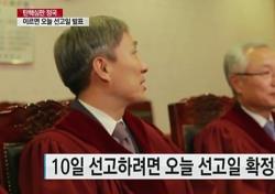 """헌재에 쏠린 눈…애꿎은 한그루 """"관심없어"""" 미운털"""