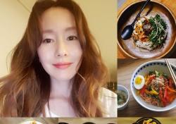 김지수, SNS로 뽐낸 요리솜씨...'나혼자산다' 이국주·박나래 뛰어 넘나