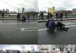 런던 테러, SNS 직찍…도로·인도 할 것 없이 쓰러져 있는 피해자 '아비규환'