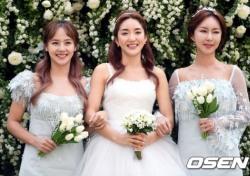 """바다 결혼식, 유진-슈 웨딩드레스 입고 동반 등장…""""합동결혼식인 줄"""""""