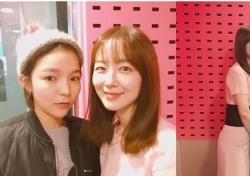 [스낵뉴스] 박진주, '씨네타운' 박선영과 인증샷 '매력 뿜뿜'