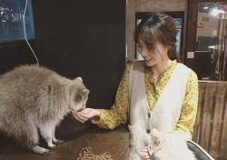 '역적' 채수빈, 남다른 고양이 사랑...얼굴에 미소 가득