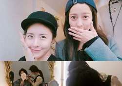 """'귓속말' 박세영, 엄마와 데이트 인증샷...""""마음까지 예쁘네"""""""