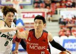 [프로농구] '밀러+양동근 38점'모비스, 동부 꺾고 6강 PO 1승 선점