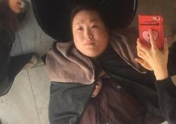 """[스낵뉴스] """"싸이 아냐?""""…이수지, 강남서 꽃단장 중 인증샷 '폭소'"""